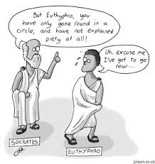 Euthyphro, typical prosecutor