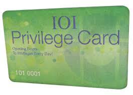 privelege card