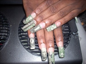 Taste and see prison diaries money dollar nail design mybeautypage 74009 300x224 prinsesfo Images