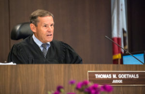 Orange County Superior Court Judge Judge Thomas Goethals reads a portion of his ruling which takes the death penalty off the table for confessed killer Scott Evans Dekraai, 47, because he concluded law enforcement would not ensure the defendant a fair penalty trial, on Friday, August 18, 2017 in Santa Ana. Dekraai pleaded guilty to killing eight people and wounding another in an October 2011 shooting spree at a Seal Beach salon. (Photo by Mark Rightmire, Orange County Register/SCNG)