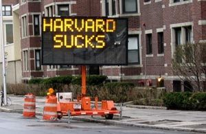 harvard sucks