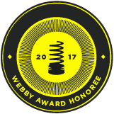 2017 Webby Award Honoree